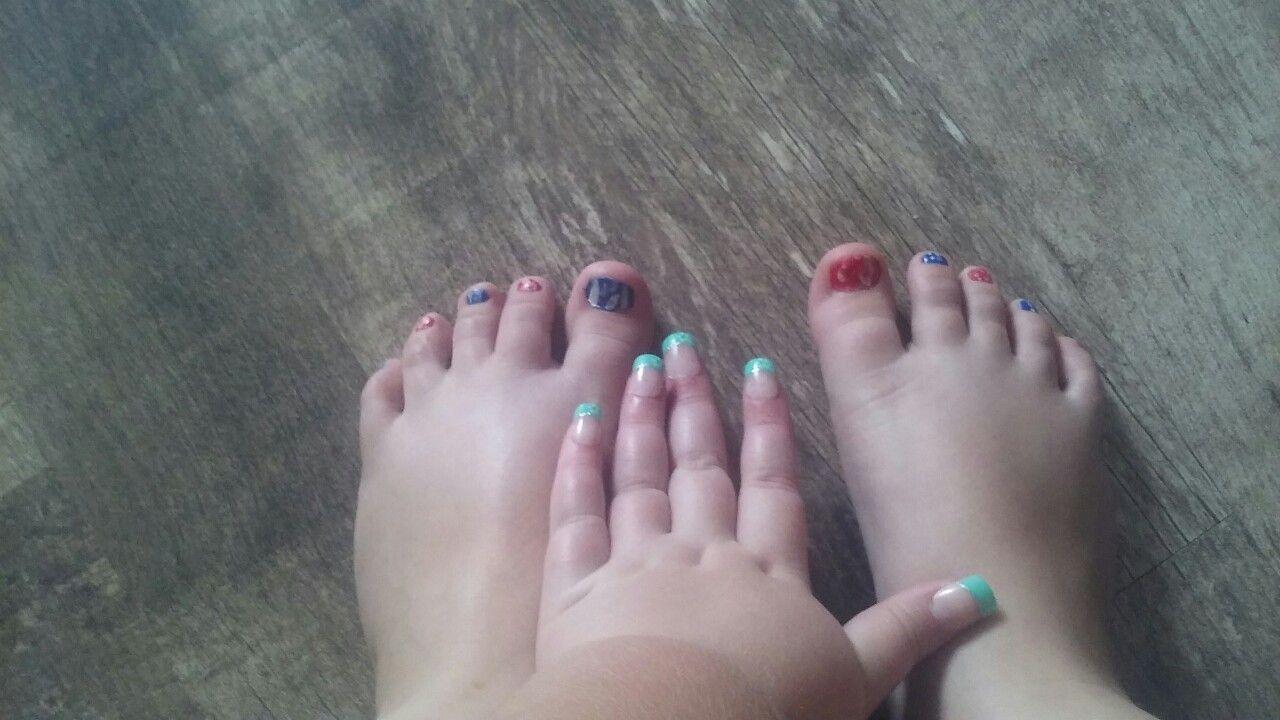 My new fake nails | nails and toes | Pinterest