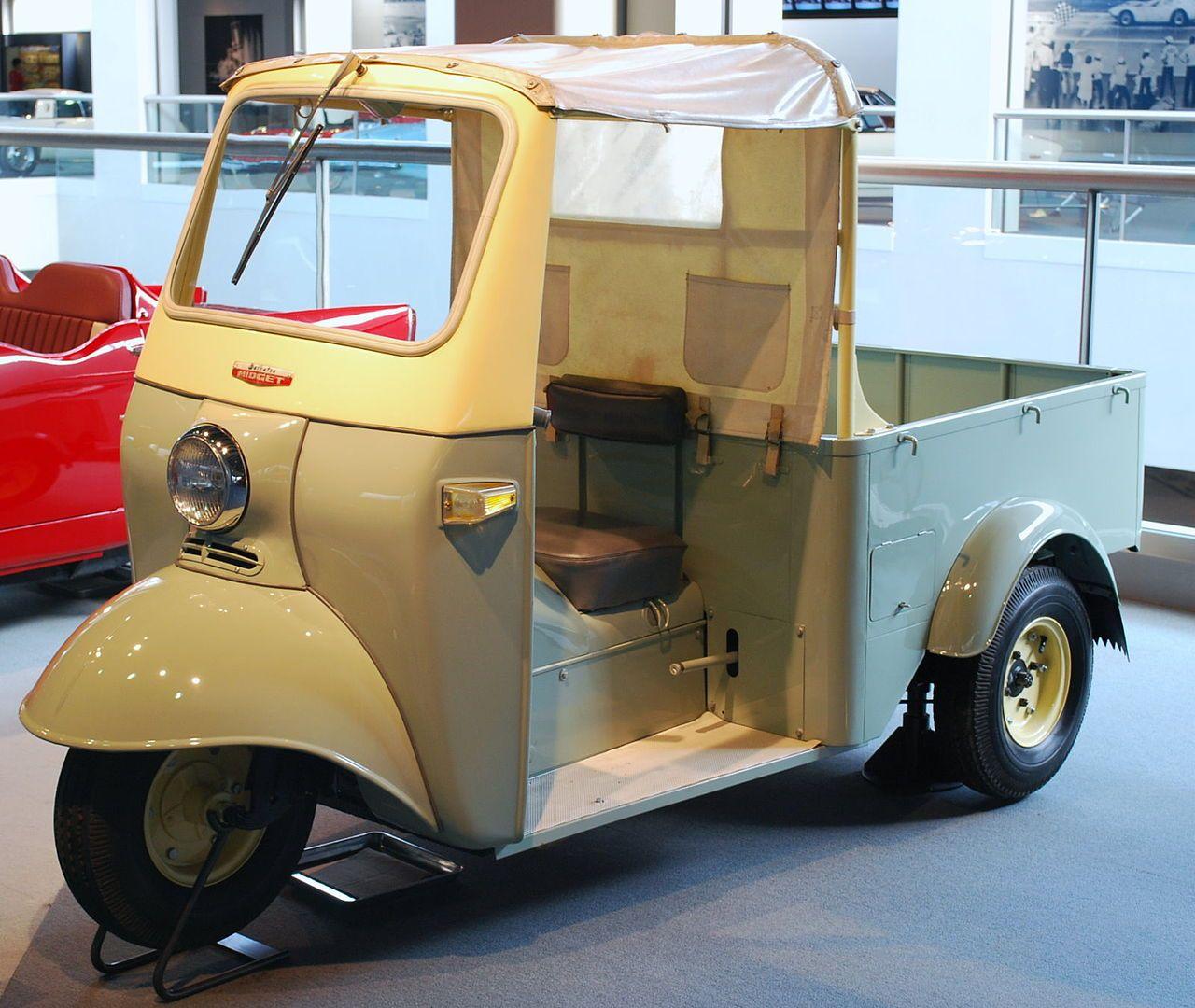 1957 Daihatsu Midget 01 Auto Rickshaw Wikipedia Daihatsu
