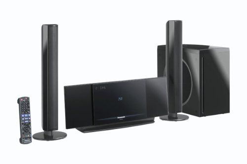panasonic sc btx77eg k 2 1 blu ray heimkinosystem schwarz. Black Bedroom Furniture Sets. Home Design Ideas