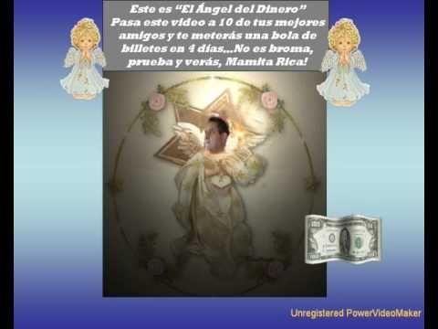 El ángel del dinero, porque la riqueza por dentro te hace tesoros por fuera...