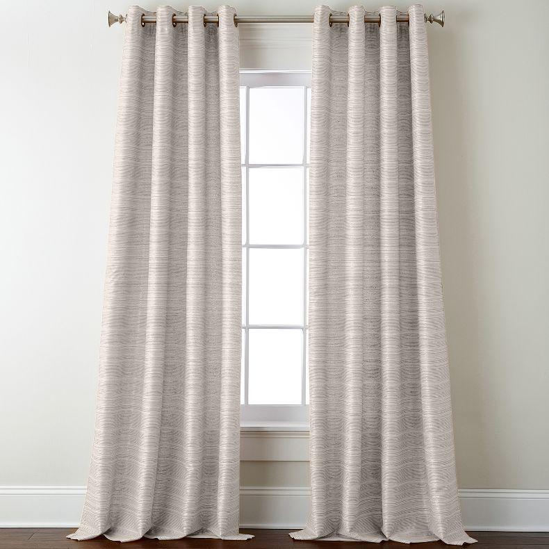 Jcpenney Studio Origins Grommet Top Curtain Panel Jcpenney