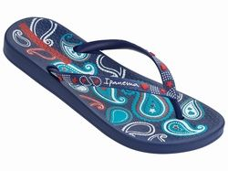 Ipanema Lovely V Navy Fab Flip Flops Www Fabflipflops Co Uk