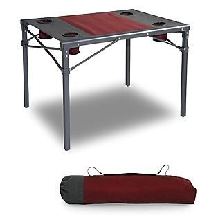 Portable Camping Table With Carry Bag Kmart 29 99 Camping Table Table Portable Table