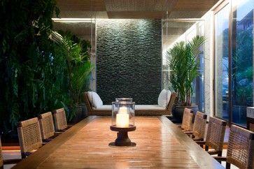 Montain Home Asian Dining Room Other Metro Eduarda Correa