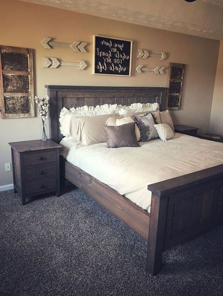 40 Popular Bedroom Decor And Design Ideas With Farmhouse Style In 2020 Modern Bedroom Furniture Remodel Bedroom Bedroom Furniture Sets