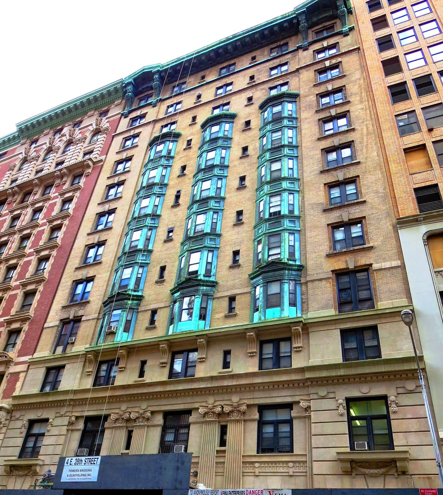 New York City Boroughs Manhattan Hotel Latham 4 East 28th Street Designed