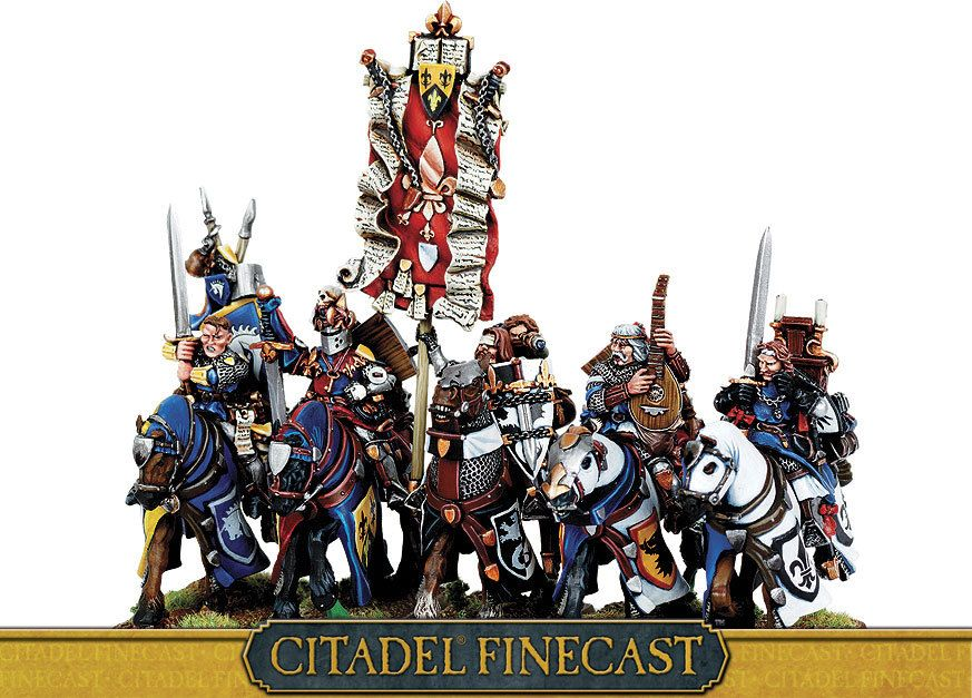 Bretonnian Questing Knights I Want This So Bad