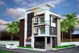 Modern Three Storey Elevation Front Elevation Designs Simple