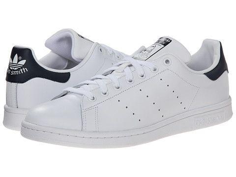 Adidas / Originals Stan Smith blanco / Adidas blanco / Navy free f2c487