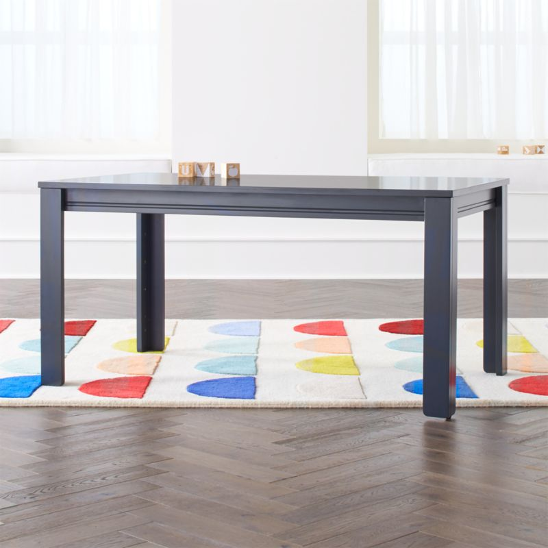 Large Charcoal Adjustable Kids Table W 23 Legs Kid Table Kids