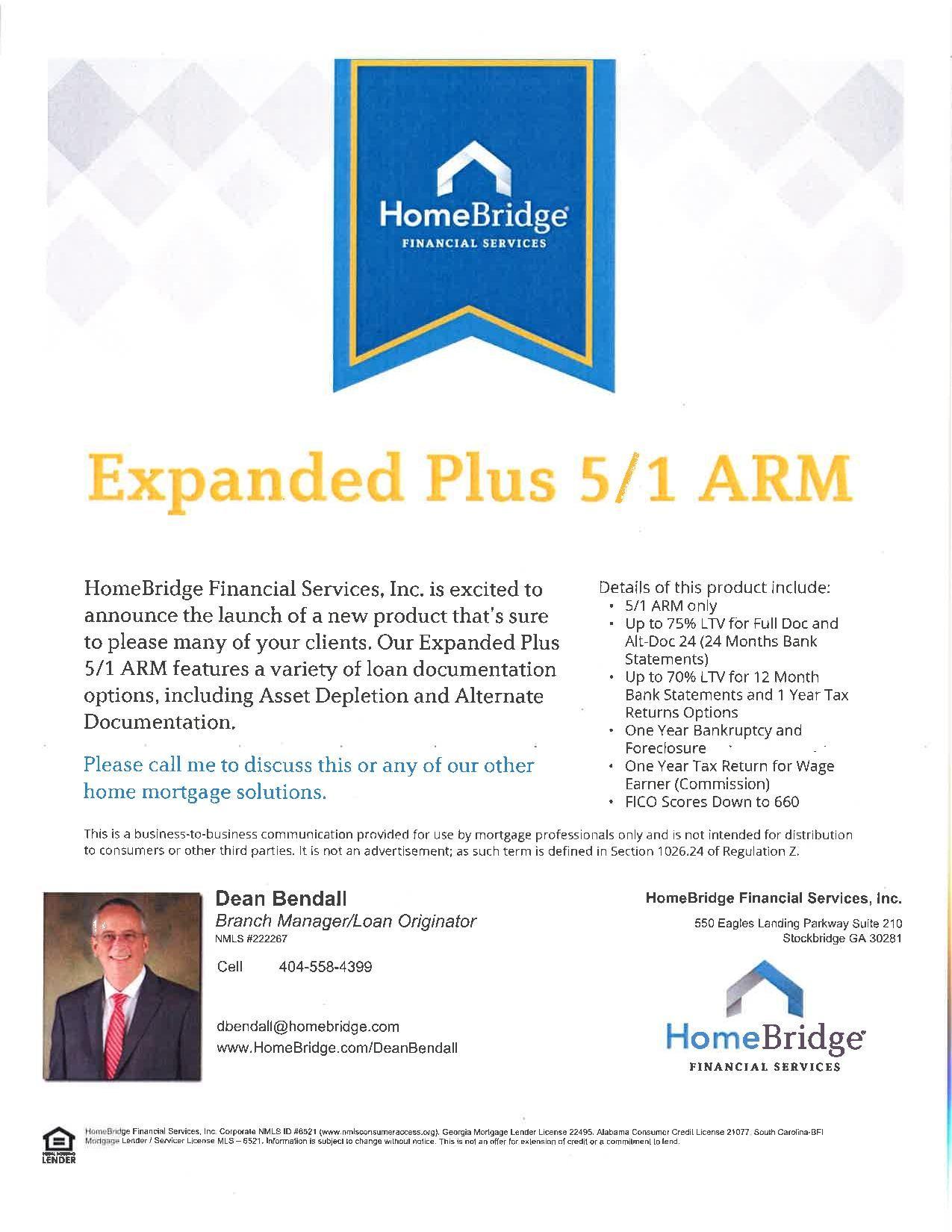 Expanded Plus Loan Program Financial Services Loan Expand