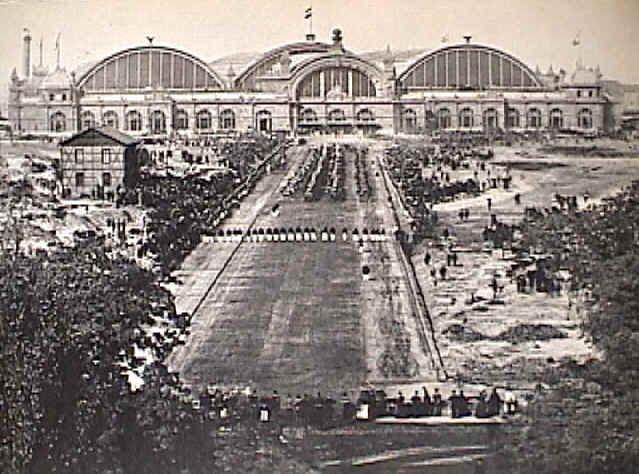 Frankfurt am Main — Centralbahnhof 1888, mit