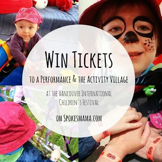 Spokesmama is giving away a family four pack of tickets to see a Kidsfest performance plus all access passes to the fun activities at the festival! Enter by midnight, May 12!