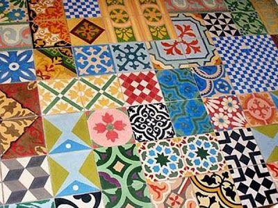 Dise os de mosaicos para pisos casa dise o for Disenos para mosaicos