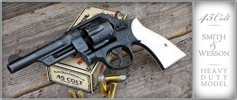 Bowen Classic Arms -Custom Engraved Smith & Wesson | Colt