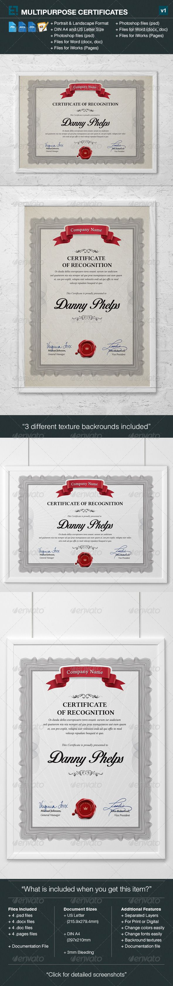 Pin on # Certificate Templates Designs