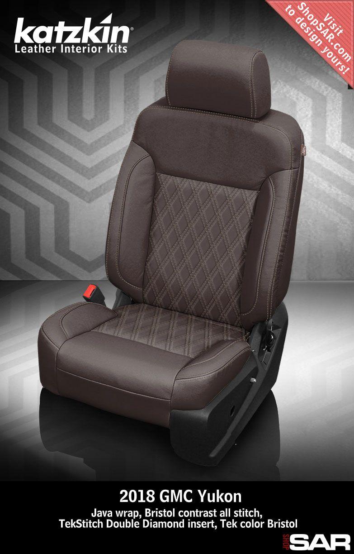 Katzkin Custom Leather Auto Interiors Leather Seat Covers Asientos De Coche Carros Y Motos Tapiceria
