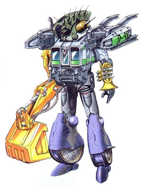Junkloid Shovelloid mode | Tokumei Sentai Go-Busters | Go busters