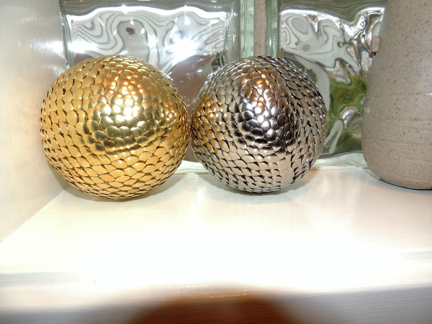Decorative Bowl Filler Balls Gold And Silver Decorative Ball Vase Filler Gold And Silver Ball