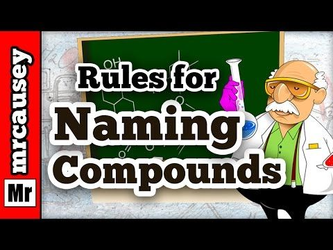 How to name ionic and covalent molecular compounds mr causeys naming compounds in chemistry learn how to easily name ionic and covalent compounds causey shows you step by step how to use the periodic table a list urtaz Image collections