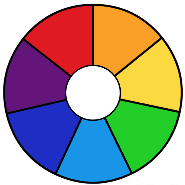 Free Printable Rainbow Wheels Math Printables Color