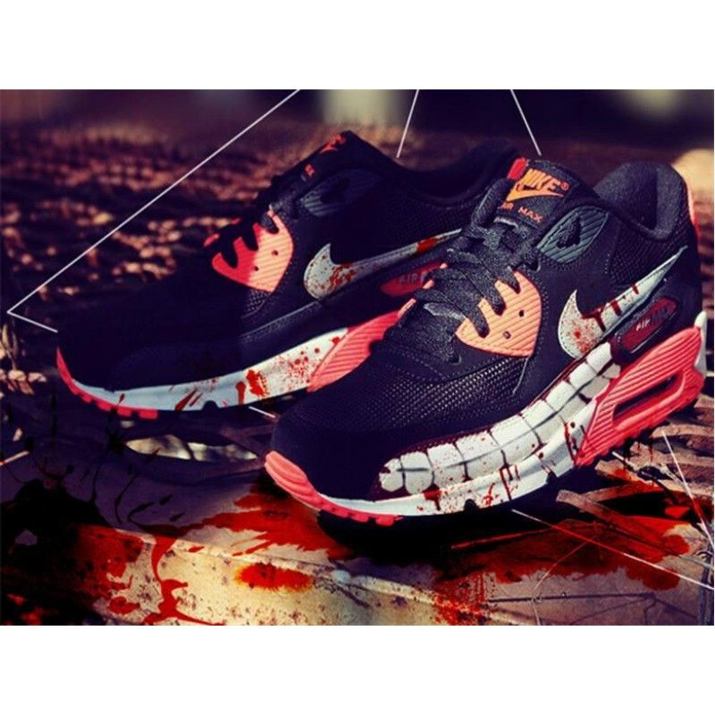 Nike Air Max 90 Custom Tokyo Ghoul Edition Shoes | Foot wear