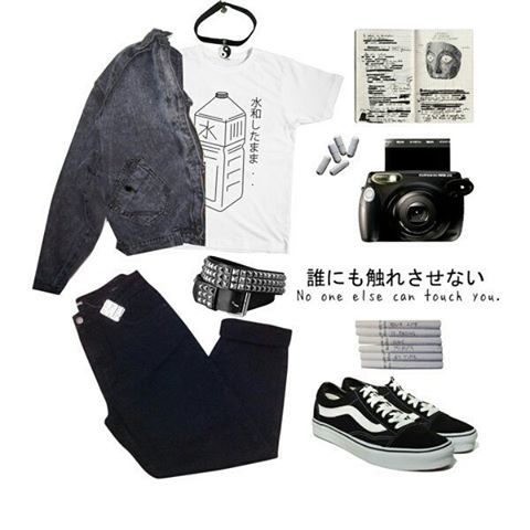 pin von baby blue auf o u t f i t s pinterest punk outfit und grunge look. Black Bedroom Furniture Sets. Home Design Ideas