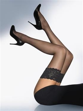 """Best ever Stockings that fit well even over 6"""" & Plus Size. They last forever and are extremely comfy."""