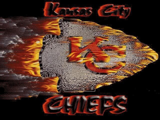 On Fire Kansas City Chiefs Logo Kansas Chiefs Chiefs Logo