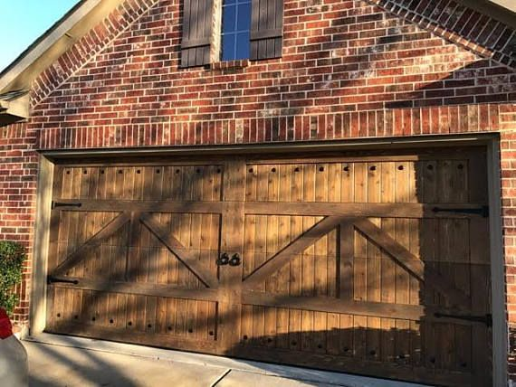 Customizable Cedar Garage Door Etsy Garage Doors Garage Door Types Garage Door Styles