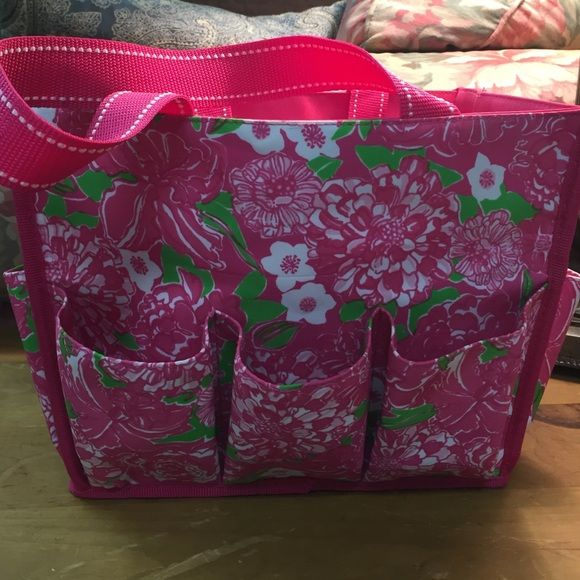 Lilly Pulitzer Shower caddy Cute floral shower caddy used once. Has ...