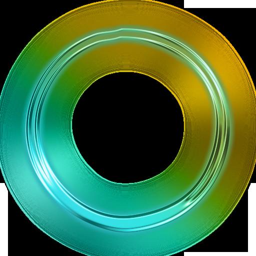 Neon Clipart circle 1 512 X 512