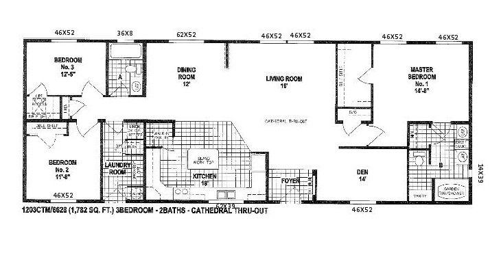 Crazy double wide floor plan floor plans for double wide for Crazy house plans