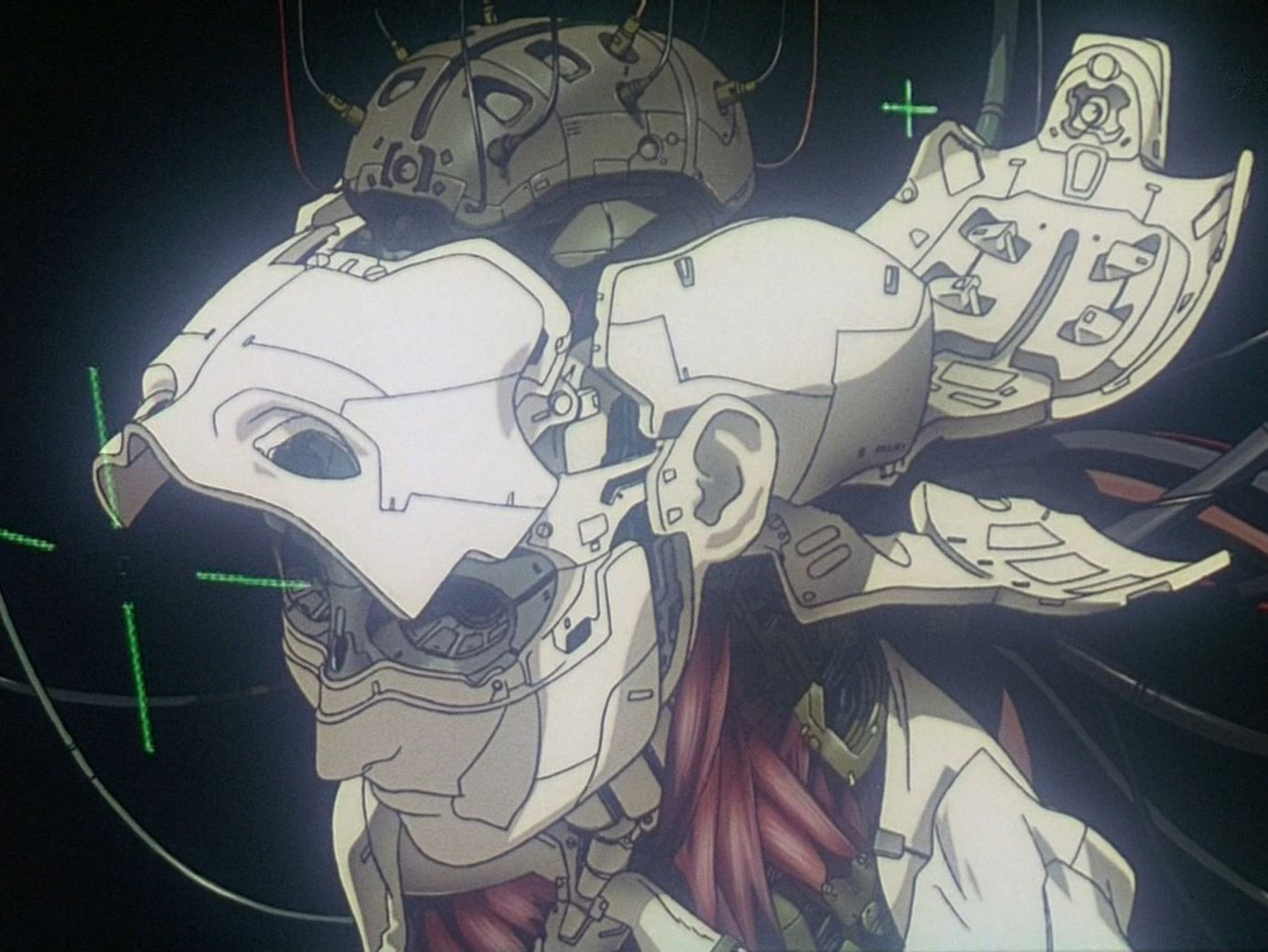 Ghost in the Shell (1995) Ghost in the shell, Cyberpunk