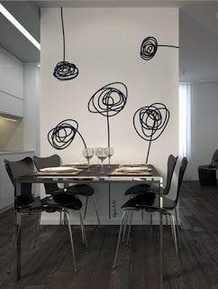 Vinilos Para Comedor | Decora Lo Que Quieras Vinilos Para Decorar Tu Sala Comedor