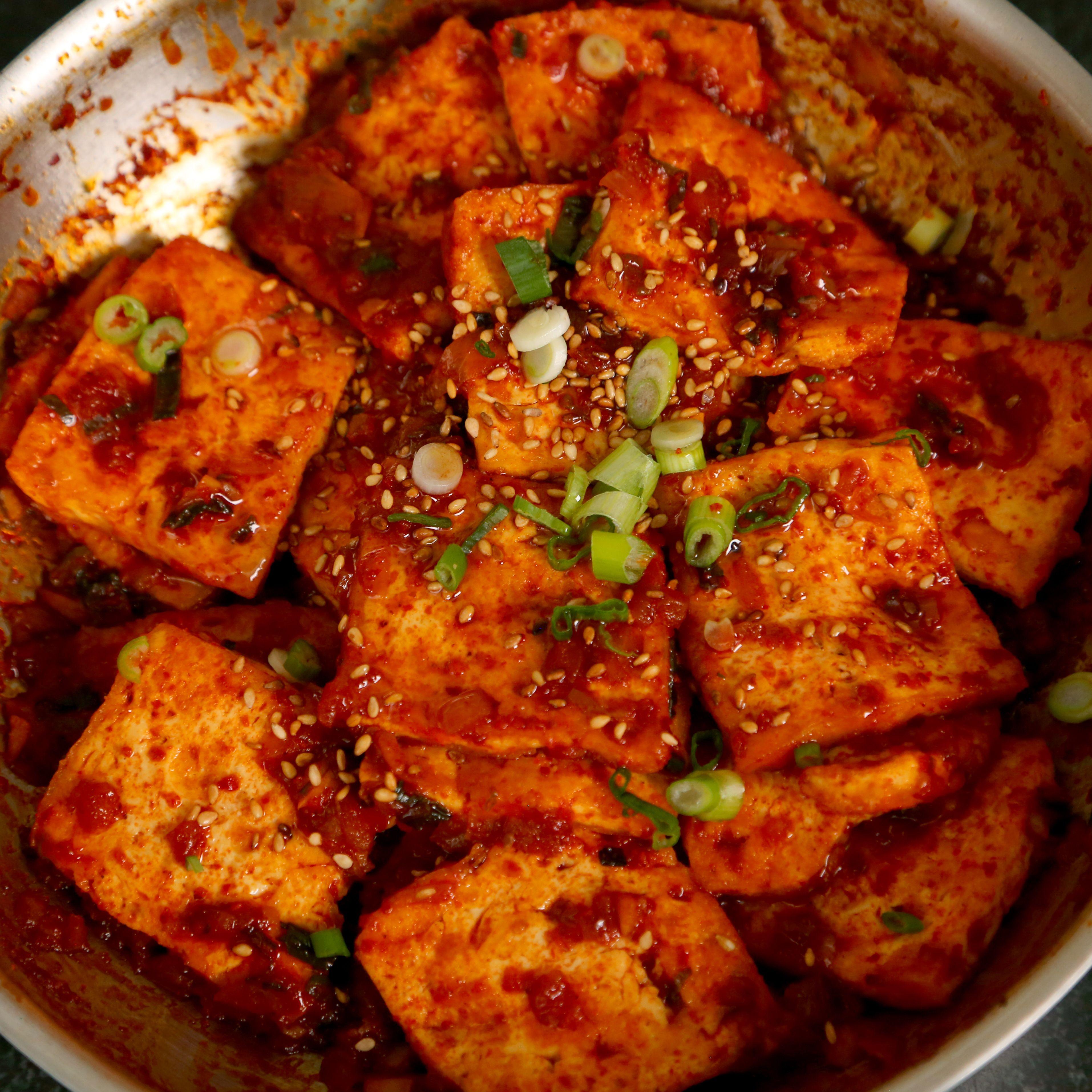 Dubu jorim recipe tofu korean food recipes and korean dubu jorim veg recipeskorean food forumfinder Images