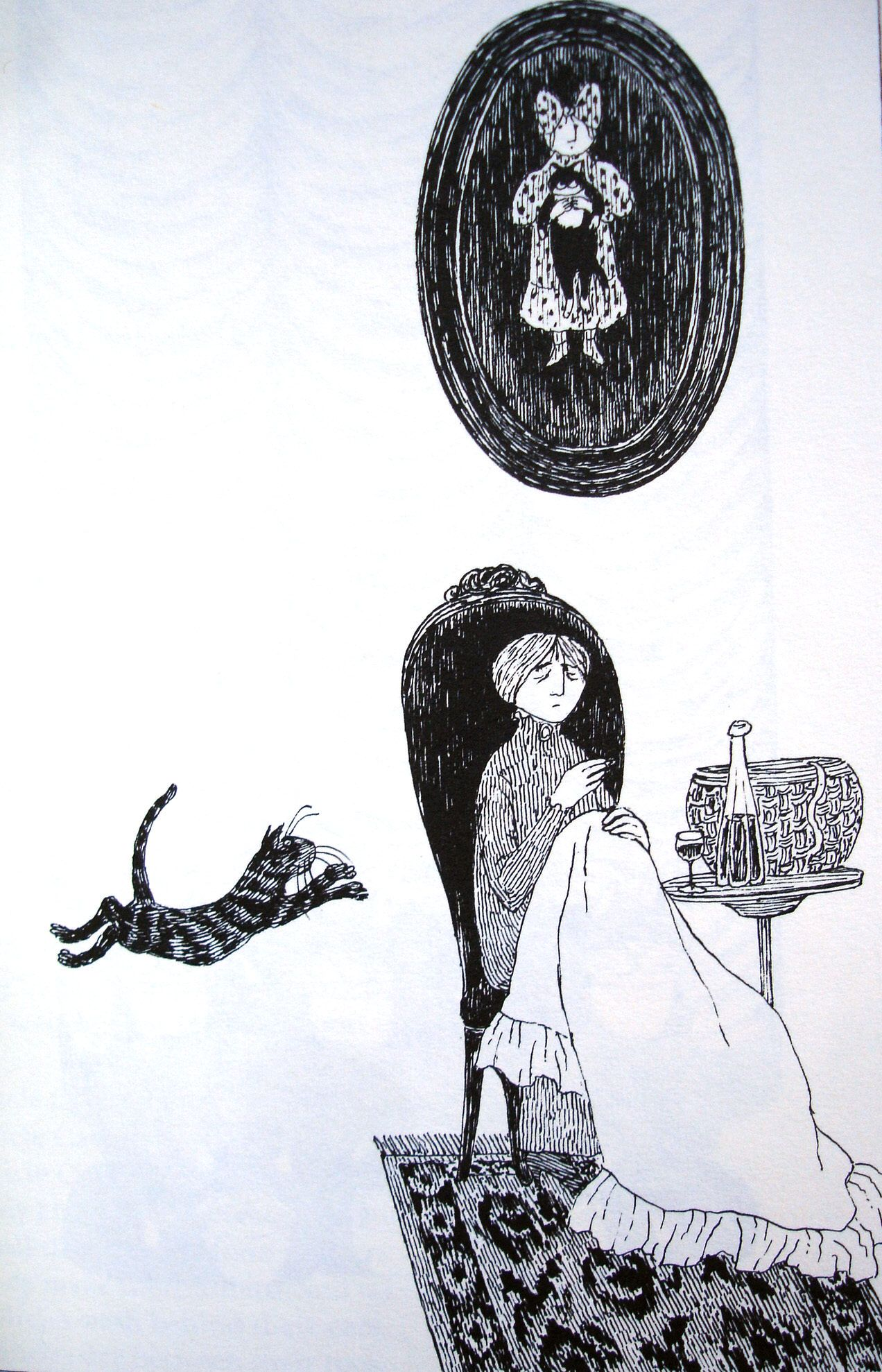 Old Possum S Book Of Practical Cats Byt T S Eliot Illustrated By Edward Gorey Edward Gorey Cat Attack Cat Art