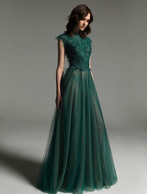 efa6e7d2016a  bridesmaid  forestgreen Senior Prom Dresses