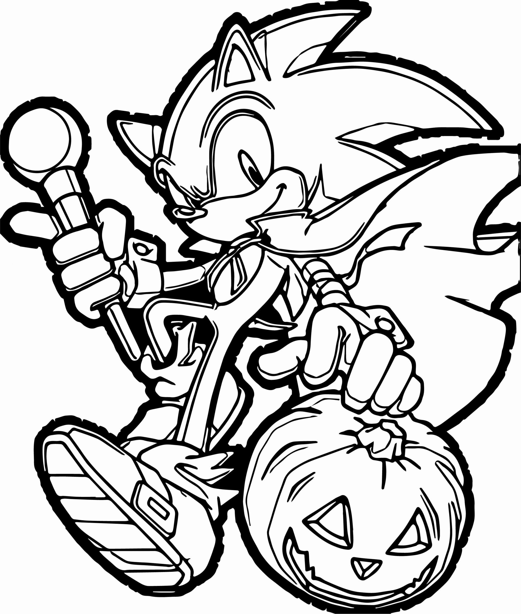 Sonic The Hedgehog Coloring Book Elegant Sonic The Hedgehog Halloween Pumpkin Coloring P Pumpkin Coloring Pages Monster Coloring Pages Halloween Coloring Pages