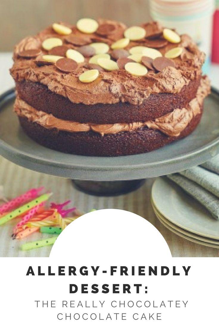 Allergyfriendly dessert the really chocolatey chocolate