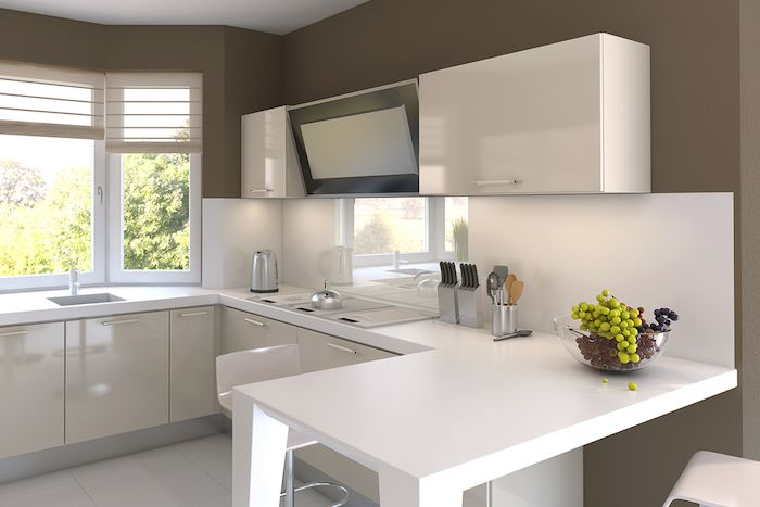 ▷ 1001 + ideen für kleine Küchen zum Inspirieren Küchen Pinterest - einbauküchen für kleine küchen