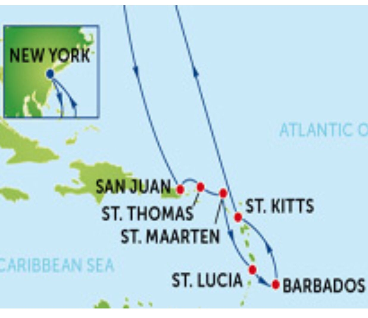 Route map from NCL website