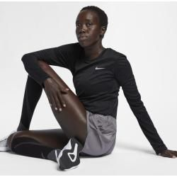Photo of Nike Miler Damen-Laufoberteil – Schwarz NikeNike