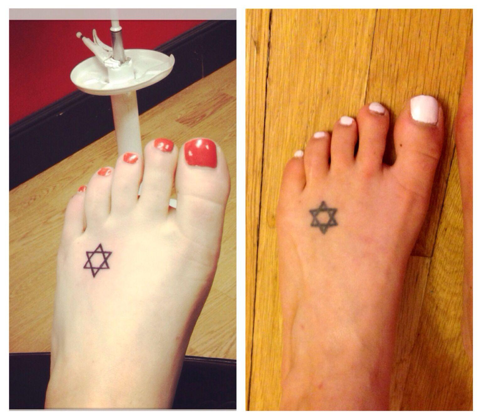 Small Star Of David Tattoo: Pin On Tattoos