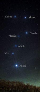 Photo of Sterne des Großen Wagens ~ Der Große Wagen ist an sich keine Konstellation. Teil …, #bearco …