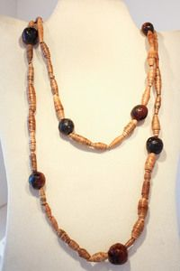 Banana Leaf Necklace #fairtrade #worldpeaces