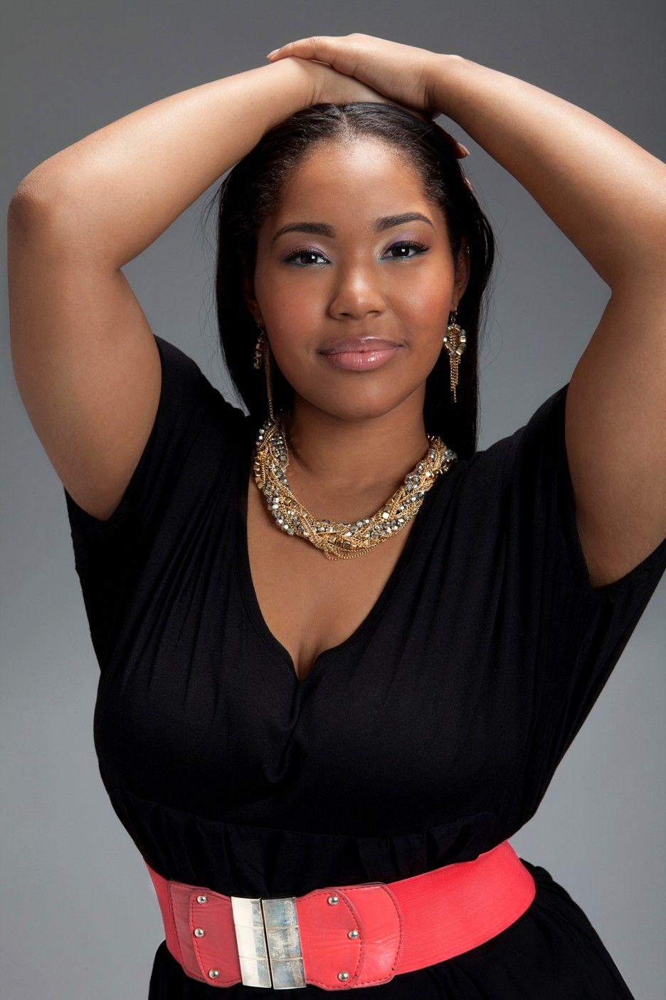 Black Plus Size Models  Lisa Raye Daughter Plus Size -5493