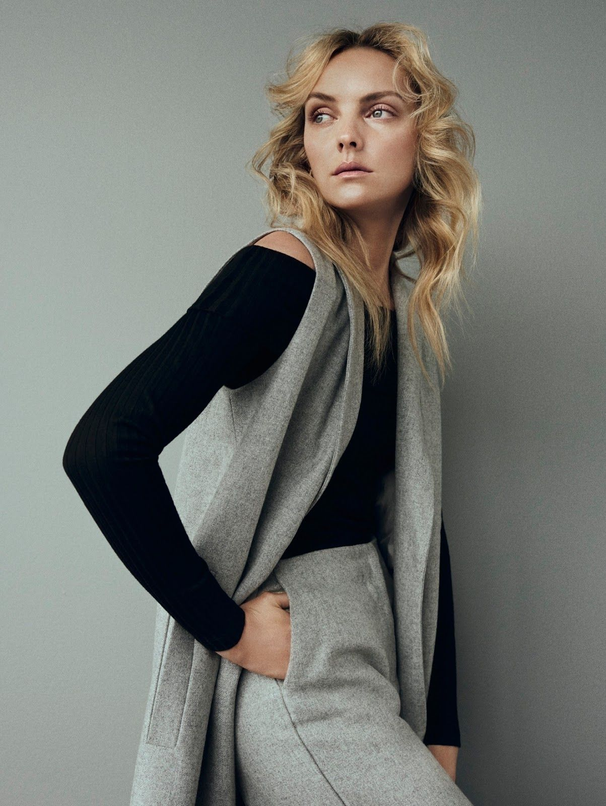 visual optimism; fashion editorials, shows, campaigns & more!: comfy minimalism: heather marks by henrik bülow for eurowoman august 2015