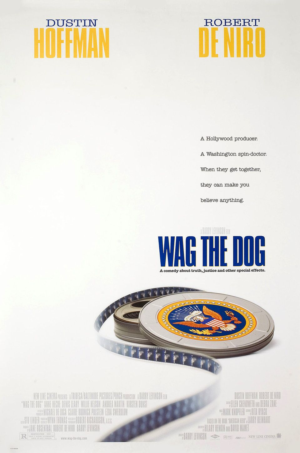 Wag the Dog 1997 U.S. One Sheet Poster Posteritati Movie