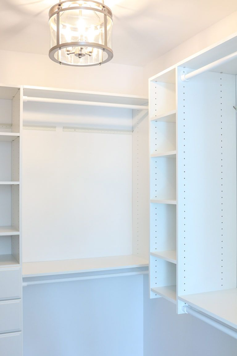 DIY Custom Walk-In Closet: Affordable & Easy to Install - 1111 Light Lane